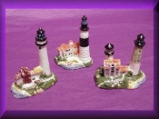 Porcelain Light House Collectible