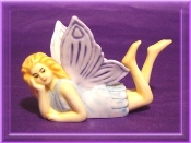 Dreaming Fairy Mini Porcelain Collectible