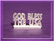 Pewter - God Bless the USA