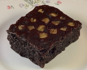 Brownie Cake-Like with Nuts in Milk Chocolate or Dark Chocolate