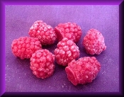 Wax Large Raspberries