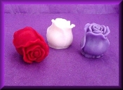 Wax Closed Rose Assorted Colors