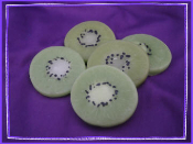 Wax Kiwi Slices