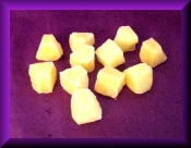 Wax Pineapple Chunks