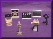 HOLLYWOOD SET (Porcelain) Collectible