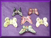 Porcelain Butterflies Assorted Colors