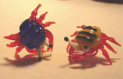Crabs Glass Miniature