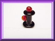 Fire Plug Glass Miniature