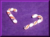 Candy Canes itty bitty (Glass)