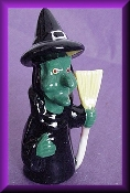 Green Witch (Porcelain)