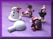Snow Theme (Porcelain) Miniature