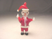 Santa Claus - Glass Miniature