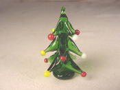 Christmas Tree RND Glass Miniature