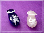 Baby Booties - Glass Miniature