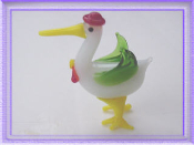 Stork - Glass Miniature