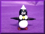 Chilly Glass Penguin Miniature