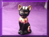 Egyptian Cat (Porcelain) Miniature