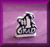 Number 1 Grad (Porcelain) Miniature