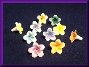 Flowers - Porcelain - Small Miniature Collectible