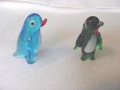 Glass Penguin Miniature